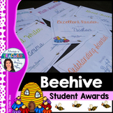 Beehive Classroom Decor Theme - Student Awards
