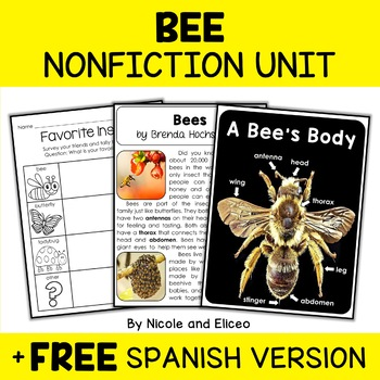 Nonfiction Bee Unit Activities