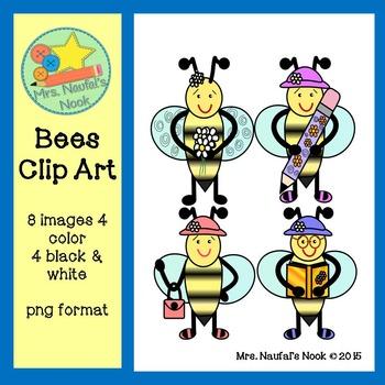 Bees Clip Art