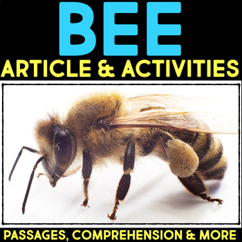Bees: Informational Article, QR Code Research & Fact Sort