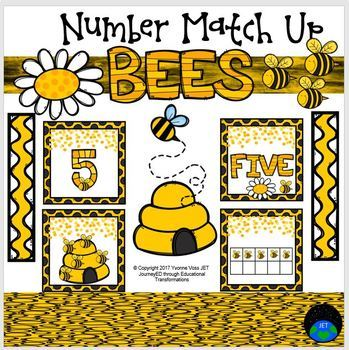 Bees Number Match Up