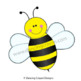 Bees and Bee Hive Clip Art