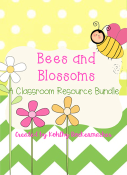 Bees and Blossoms: Garden-Themed Teacher's Binder and Reso