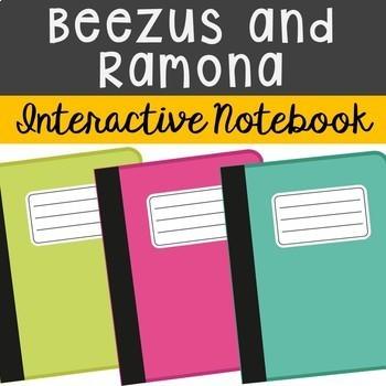 Beezus and Ramona Interactive Notebook Novel Unit Study Ac