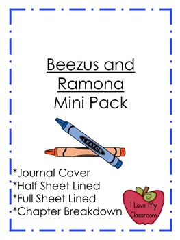 Beezus and Ramona Mini Pack
