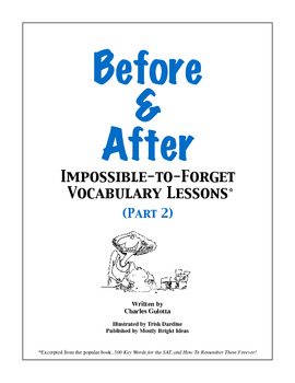 Before & After: Impossible-to-Forget Vocabulary Lessons (2)