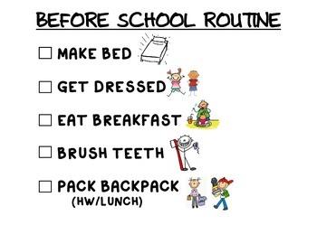 Before School Routine