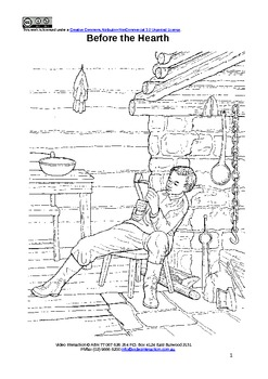 Before the Hearth - guided reading