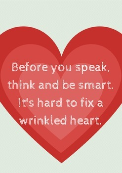 Before you speak, think and be smart. It's hard to fix a w