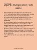 Beginner Multiplication Facts (1-9)