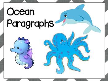 Beginner Paragraphs - Ocean Theme