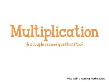 Beginnger Multiplication Word Problems