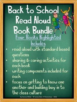 Class Culture Read-Aloud Book Bundle - New School Year