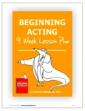 Beginning Acting Nine-Week Lesson Plan