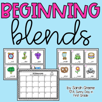 Beginning Blend Scoot {freebie!}