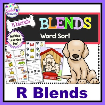 Consonant Blends Word Sort