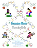 Beginning Blends Bouncing Balls Game - 1 page