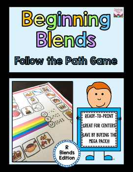 Beginning Blends Follow the Path - R-Blends Edition
