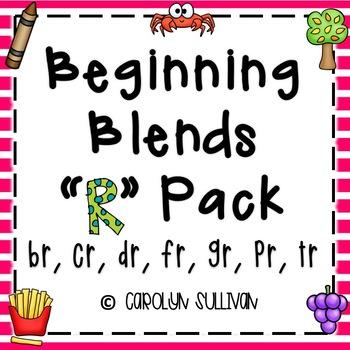 "Beginning Blends Pack - For the ""R"" Blends"