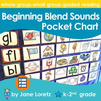 Beginning Blend Sounds Pocket Chart