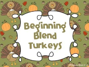 Beginning Blend Turkeys