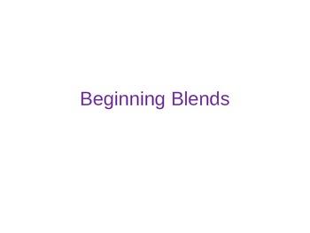 Beginning Blends powerpoint