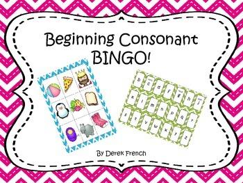 Beginning Consonant BINGO!
