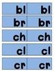 Beginning Consonant Blends Tile Game