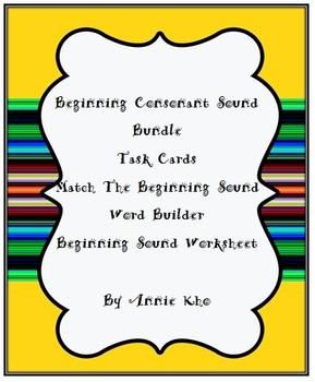 Beginning Consonant Sound Bundle