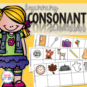 Beginning Consonant Sound Strips
