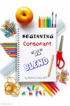 "Beginning Consonant ""bl"" blend"