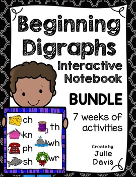 Beginning Digraphs Interactive Notebooks Bundle