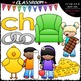 Beginning Digraphs (ch-ph-sh-th-wh) Clip Art Bundle