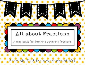 Beginning Fractions - Mini Book