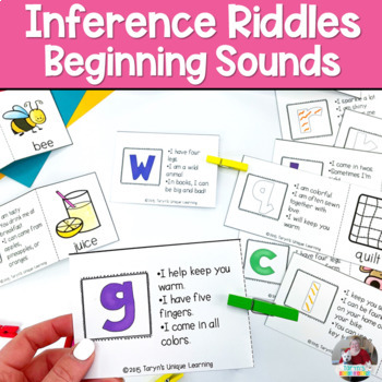 Inferring- Beginning Sounds