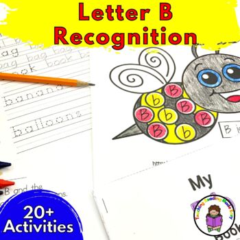 Beginning Letter Sound Worksheets & Activities: Letter B