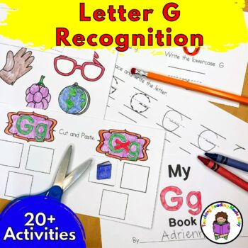 Beginning Letter Sound Worksheets & Activities: Letter G