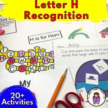 Beginning Letter Sound Worksheets & Activities: Letter H