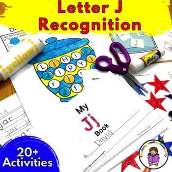 Beginning Letter Sound Worksheets & Activities: Letter J