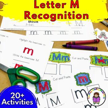 Beginning Letter Sound Worksheets & Activities: Letter M
