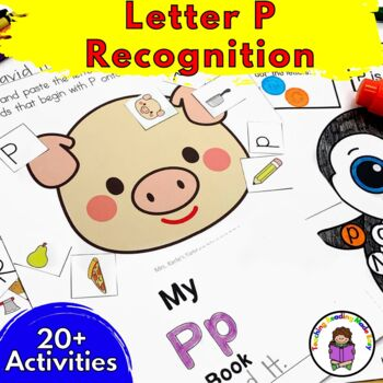 Beginning Letter Sound Worksheets & Activities: Letter P