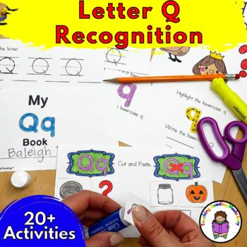 Beginning Letter Sound Worksheets & Activities: Letter Q