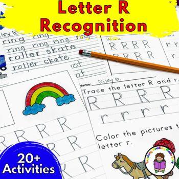 Letter of the Week:  Letter R -Beginning Letter Sound Work