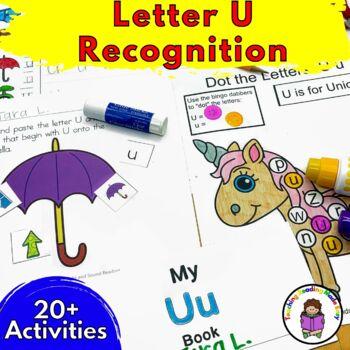 Beginning Letter Sound Worksheets & Activities: Letter U