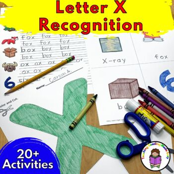 Letter of the Week:  Letter X -Beginning Letter Sound Work