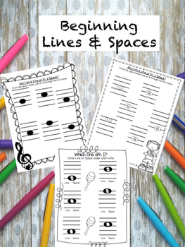 Beginning Lines and Spaces