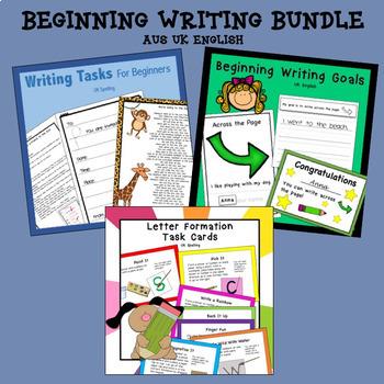 Beginning Writing Bundle AUS UK