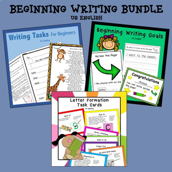 Beginning Writing Bundle US