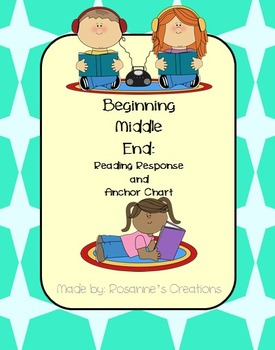 Beginning-Middle-End- Reading Response and Anchor Chart
