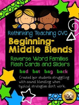 Beginning-Middle Sound Blends (Reverse Word Families)